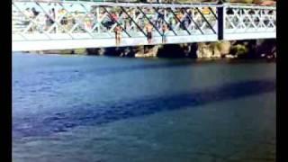 salto ponte D luis , ribeira porto