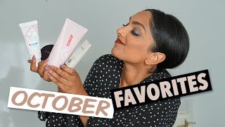 October Favorites! | Deepica Mutyala