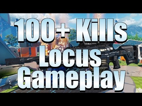 Black Ops 3 - 100+ Kills With Locus Sniper Rifle (Without Scorestreaks)