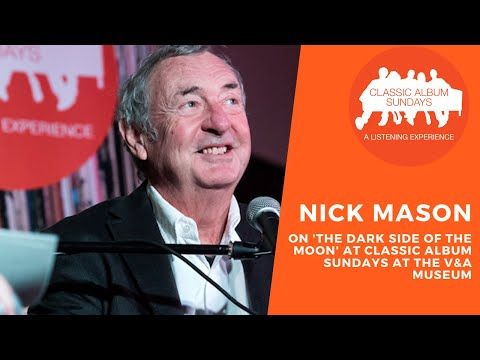 Classic Album Sundays presents Nick Mason on Pink Floyd 'The Dark Side Of The Moon' at The V&A