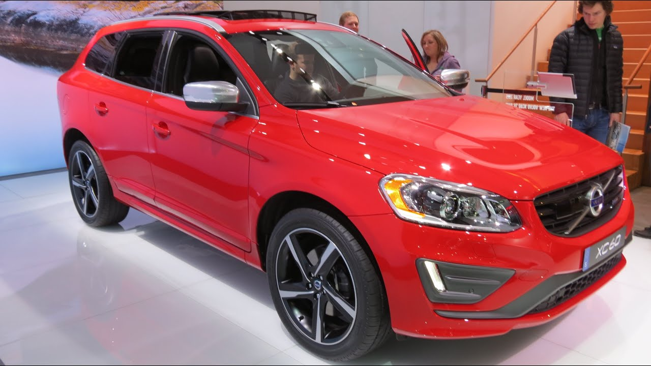 2015 volvo xc60 t6 awd r design at the 2014 naias auto. Black Bedroom Furniture Sets. Home Design Ideas