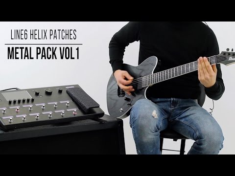 Line 6 Helix Patches: Metal Pack vol.1 - Playthrough