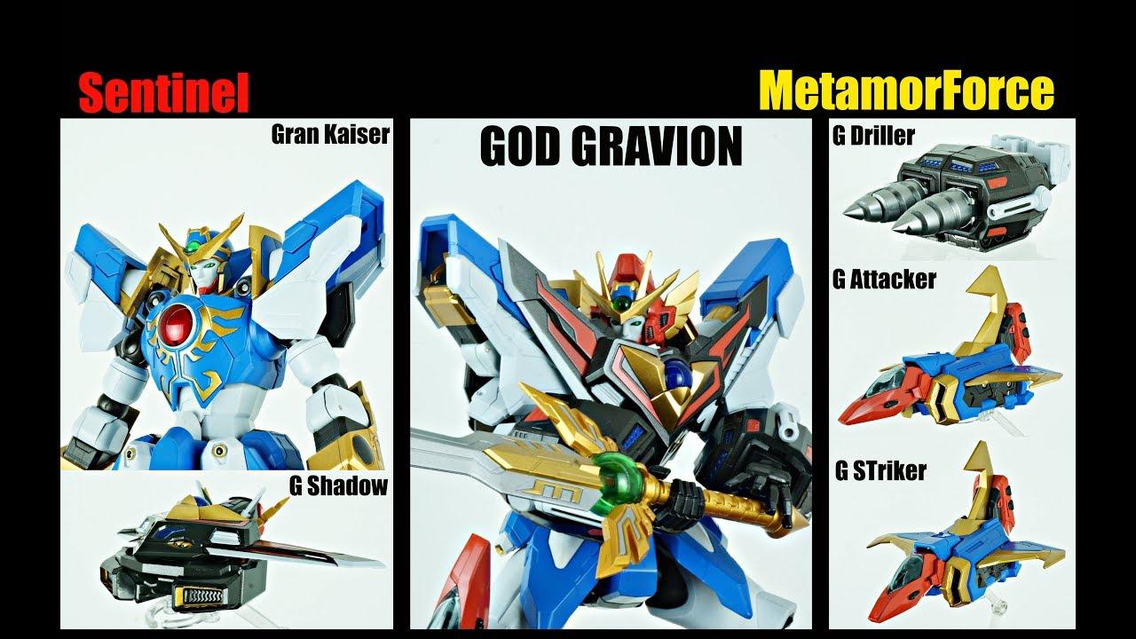 Review METAMOR FORCE God Gravion #1