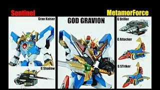 Review METAMOR FORCE God Gravion