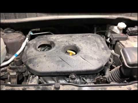 G4NA 2.0 двигатель Hyundai IX35 стук и задиры