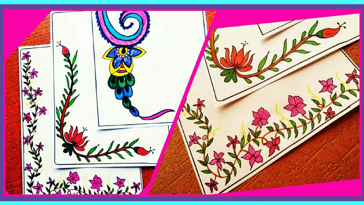 Border Designs On Paper Designs For Project Work Border Designs