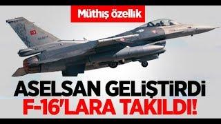 Yunanlar Şokta Aselsan SPEWS-II'yi F-16 Uçaklara Giydirdi