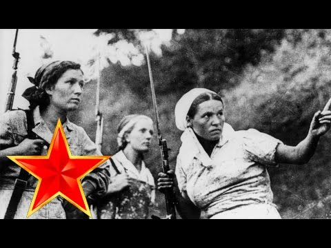 Popular songs in Soviet Union during WW2