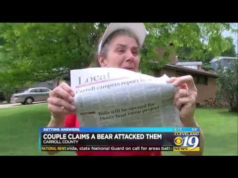 Woman Attacked by Black Bear in Northeast Ohio