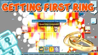 GETTING MY FIRST RING!! | Growtopia