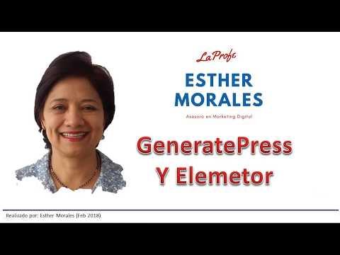 GeneratePress y Elementor dos herramientas para cambiar el blog