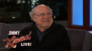 Danny DeVito on Falling at Dumbo Press Event