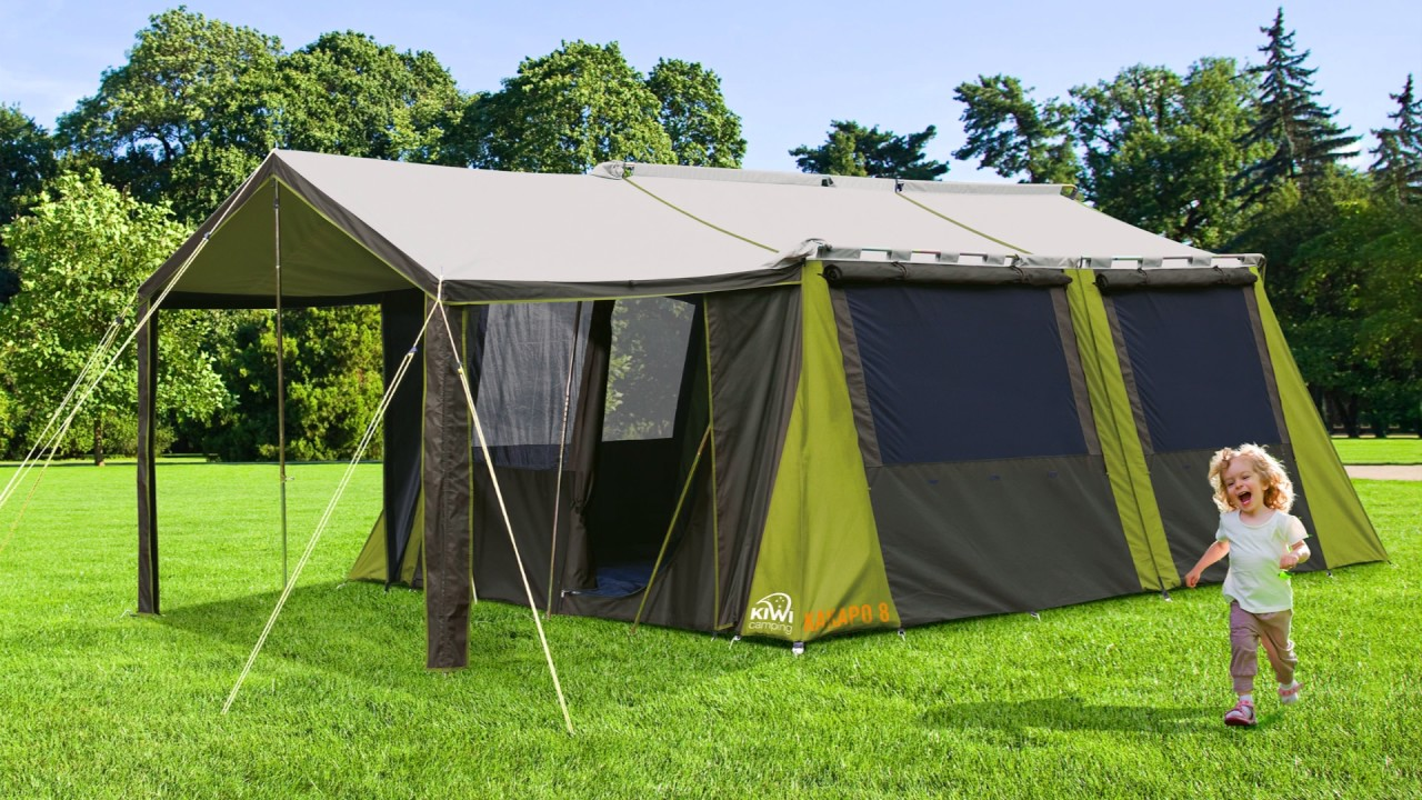 Canvas Tent & Canvas Tent - YouTube