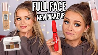 FULL FACE OF NEW MAKEUP! LET'S PLAY WITH MAKEUP + CHILL