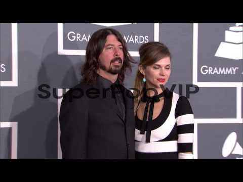 Dave Grohl, Jordyn Blum at The 55th Annual GRAMMY Awards ...