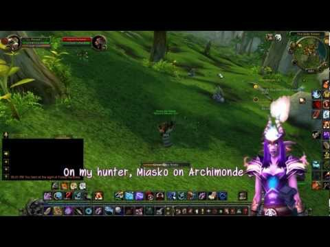 [WoW] Taming R Hunter Pets in MoP (Savage)