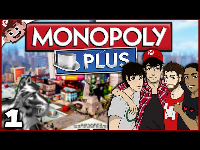 The ChilledChaos Consultancy Firm is Back! (Monopoly Plus: Part 1 w/ The Derp Crew)