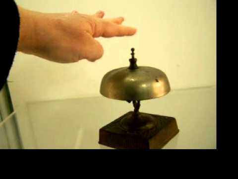 Victorian Desk Hotel Counter Bell