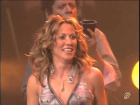 The Rolling Stones   Honky Tonk Women   With Sheryl Crow Live at MSG