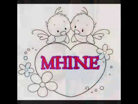Happy First Monthsary Mhine