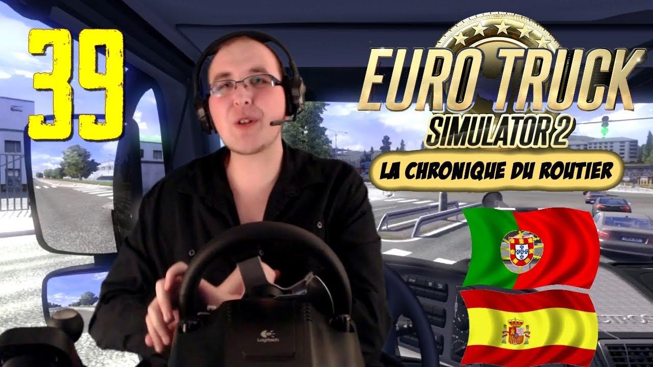 Euro Truck Simulator La Chronique Du Routier Voyage En - Portugal map euro truck simulator 2