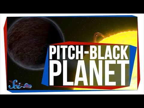The Fiery, Pitch-Black Egg-Planet
