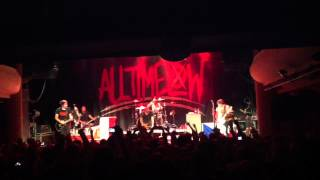 All Time Low - Weightless LIVE HD @ Palac Acropolis Prague 31.08.2012 Czech Republic