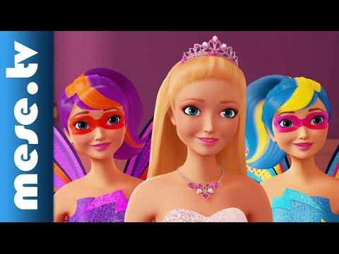 barbie szuperh s hercegn filmel zetes anim ci s film x youtube. Black Bedroom Furniture Sets. Home Design Ideas