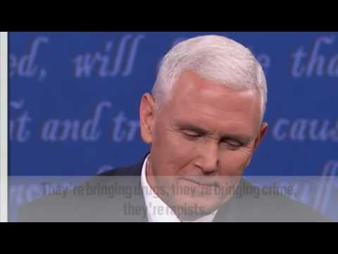 Mike Pence Shakes His Head at Things That Are True