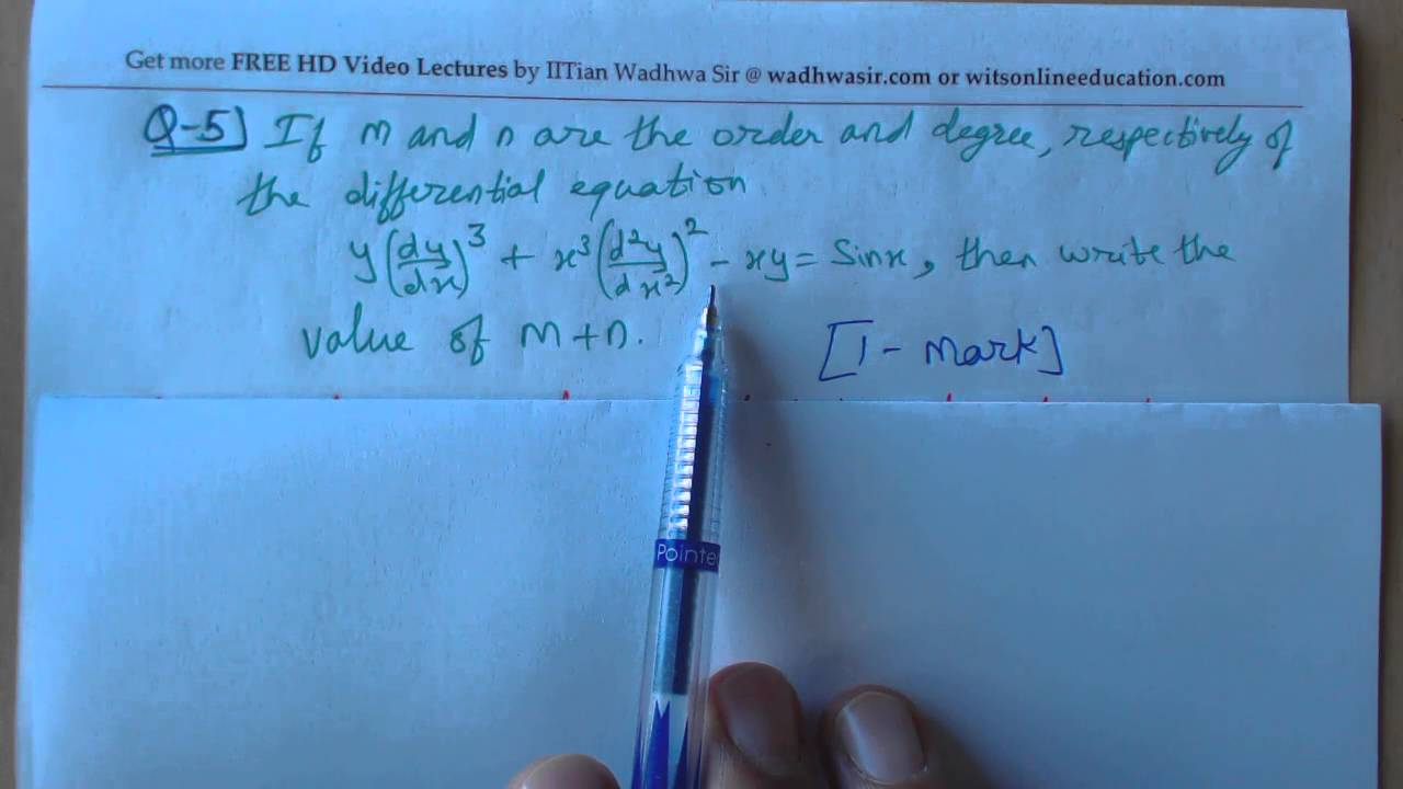 5) Class 12th Mathematics Sample Paper 2015(by CBSE)- solved by ...
