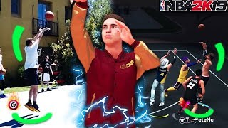 2K ADDED MY IRL JUMPSHOT AND IT DOESN'T MISS!! 100% GREENS! Best Jumpshot in NBA 2K19?
