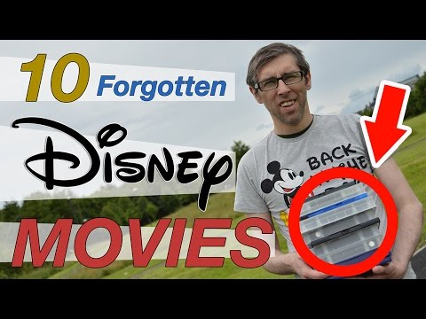 10 FORGOTTEN DISNEY MOVIES (That are actually good) - Great Walt Disney movies you don