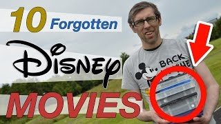 10 FORGOTTEN DISNEY MOVIES (That are actually good) - Great Walt Disney movies you don't remember