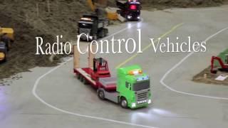 RC Construction Trucks! -RC Radio control vehicles from Oslo motorshow 2016 - RC adventures