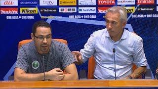 المؤتمر الصحفي لمدرب منتخب السعودية الهولندي فان مارفيك بعد الفوز على الإمارات بثلاثية نظيفة