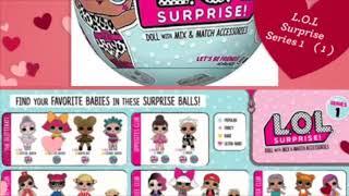 Всі ляльки LOL 1 серії L. O. L surprise series 1