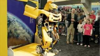 Bumblebee Transforms at The Children's Museum of Indianapolis