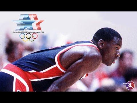 MICHAEL JORDAN OLYMPICS 1984