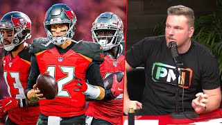 Pat McAfee Says The Buccaneers Will Be Better Than The Patriots Next Year