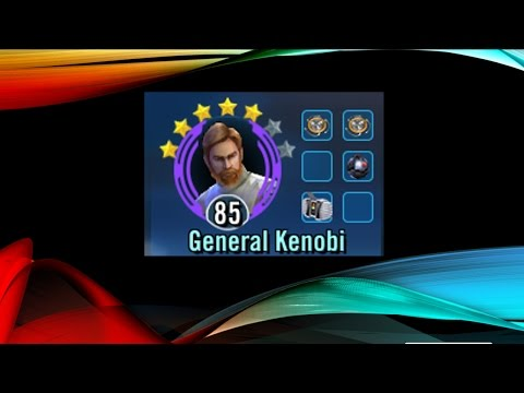 SWGOH - Rebel Synergy with General Kenobi and a sprinkle of Clones - Star Wars Galaxy of Heroes