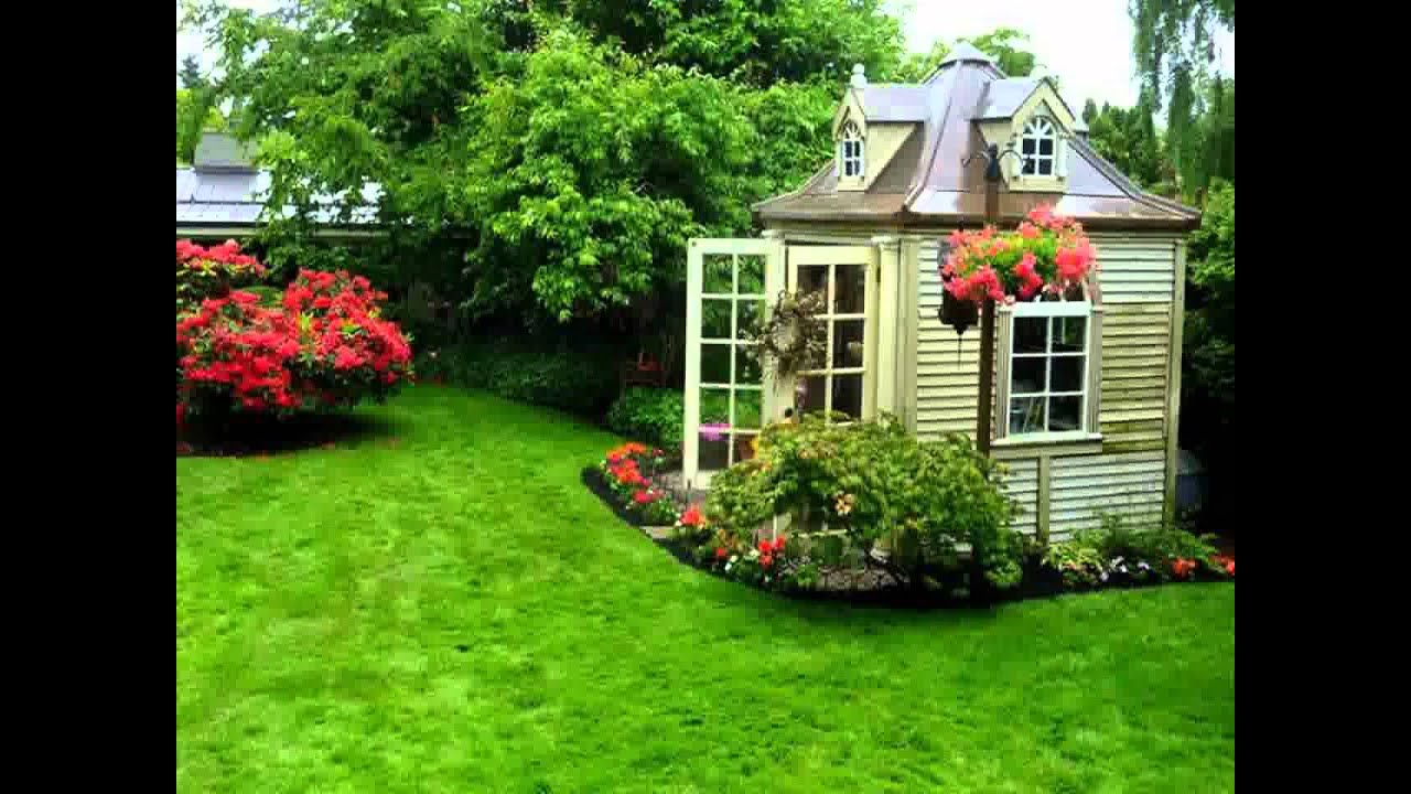 Beautiful Small Gardens beautiful small home garden ideas - youtube