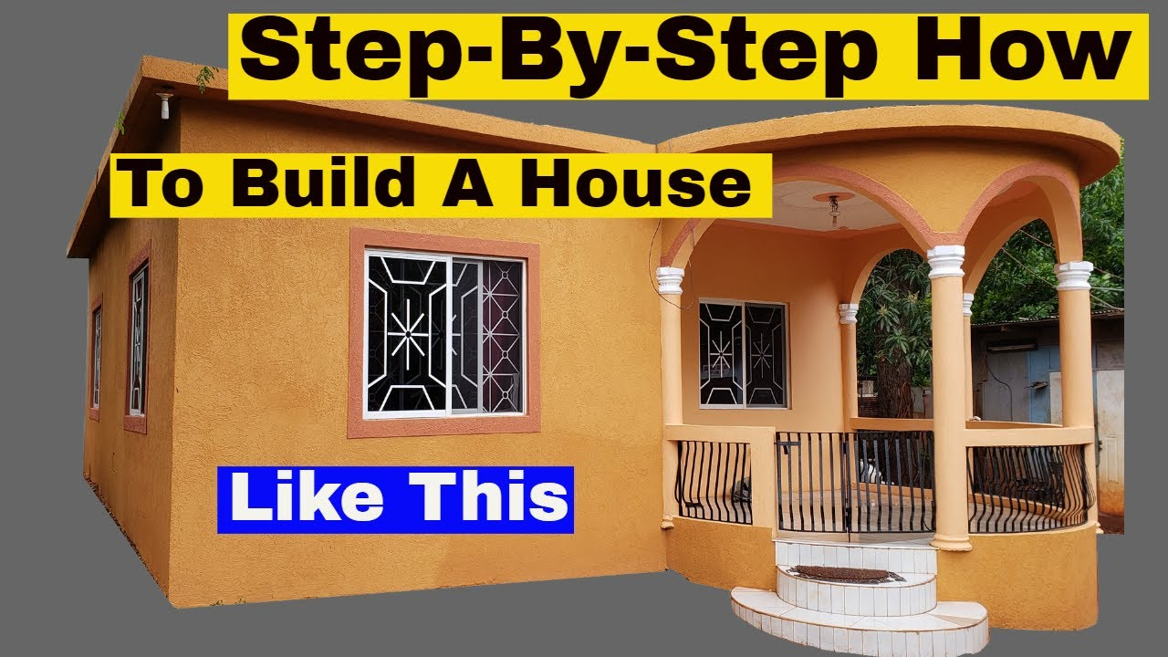 Step By Step How To Build Concrete Block House Cinder Blocks Projects Youtube
