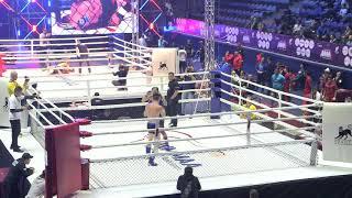 77,1kg: Andrei Gritsenko (Ukr) vs. Temirlan Ikhsangaliev (Kaz). 2017 World MMA Championships
