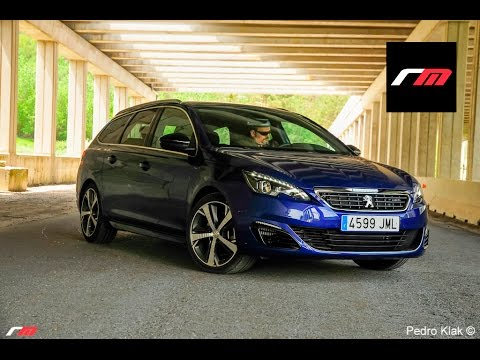 peugeot 308 sw gt hdi 180 eat6 prueba youtube. Black Bedroom Furniture Sets. Home Design Ideas