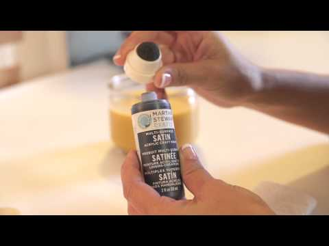 How to Use Martha Stewart's Glass Paint : Getting Crafty