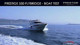 PRESTIGE 550 Flybridge - by BoatTest