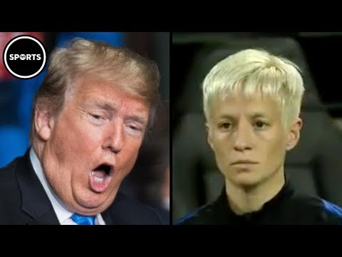 Female Soccer Star Says 'F*** YOU' To Trump