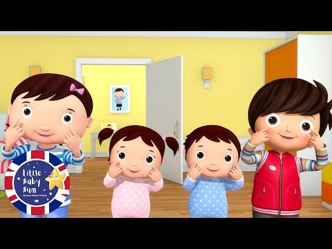 Parts Of The Body | Learn English For Kids | Songs For Kids | Nursery Rhymes | Little Baby Bum