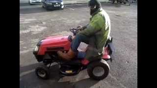 BRITNERS GOT TALENT NELSON RIDE ON MOWER NELSON LANCASHIRE