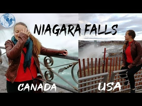 Comparing Niagara Falls In The US And In Canada!